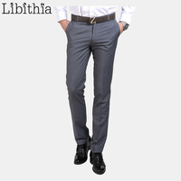 2015 New Arrival Suit Pants Formal Wedding Male Trousers For Men Classical Dress Pants Slim Fit