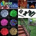 20 M 200 LED Solar Powered Hadas de la Secuencia del Alambre de Cobre Luz Del Partido de Navidad Decoración