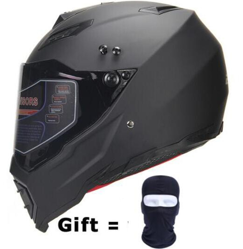 BYE Motorcycle Helmet Men Full Face Helmet Moto Riding ABS Material DOT Certification Adventure Motocross Helmet Motorbike