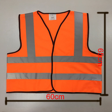 Flash Deals Zojo Brand Safety Clothing Outdoor High Reflective Vest Size 65*60cm Coveralls Unisex Chaleco Reflectante V002-2