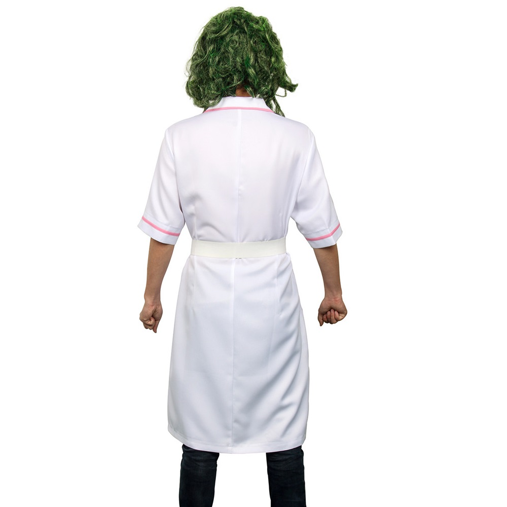 Image 3 - Takerlama Scary Movie Batman The Dark Knight Joker Nurse Dress Uniform Cosplay Costume Halloween Party Outfit  Props with Mask-in Movie & TV costumes from Novelty & Special Use