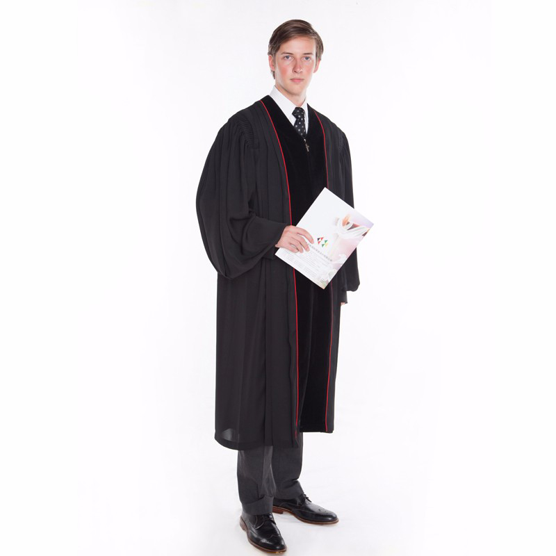 1St Level High Quality Adult Male Missionary Costume Christian Church Clothes The Priest Clothing Churchman Costumes Long Robe
