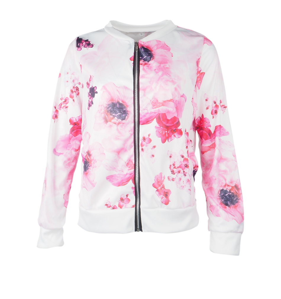 HTB1wttYUbrpK1RjSZTEq6AWAVXaN Plus Size Printed Bomber Jacket Women Pockets Zipper Long Sleeve Coat Female Flower Chiffon White Jacket Woman Spring 2019