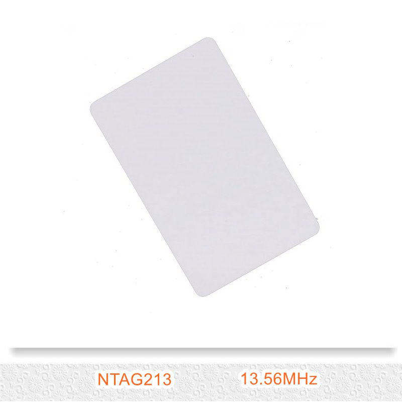 1PCS 213 Chip 13.56MHZ Universal NFC Card 144byte IC Card ISO 14443 A