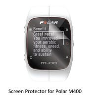3 Clear LCD PET Film Anti Scratch Screen Protector Cover For Smart Watch Computer Polar M400