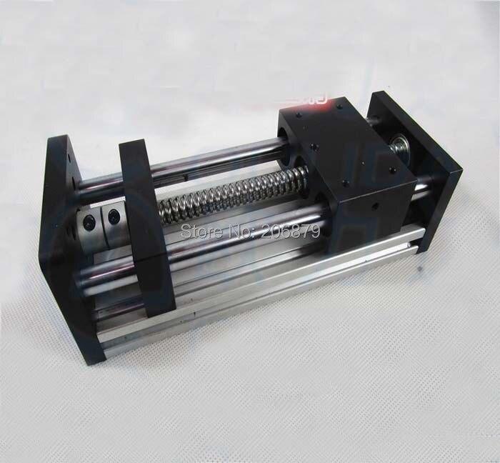 No Motor 200mm Effective Travel Length 16mm 1605 Ballscrew  Linear Guide Rail Motion Motion Module Table CNC Slip-way