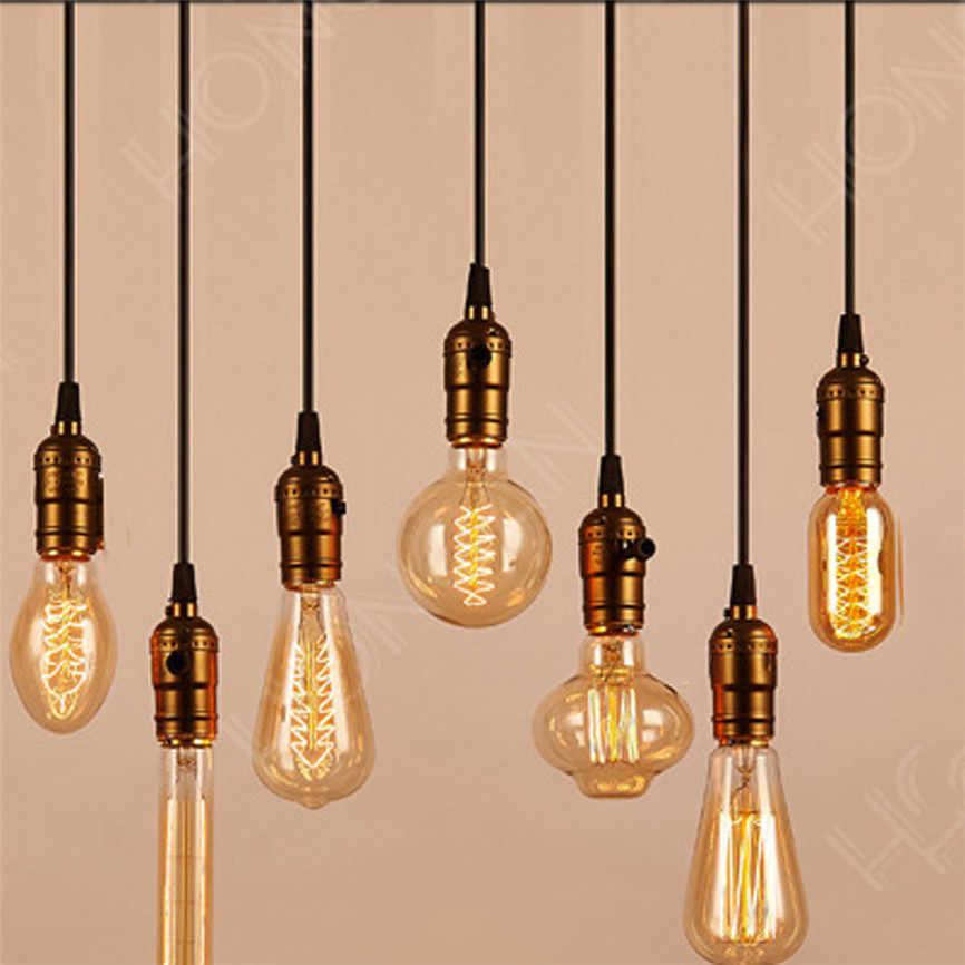 CARPRIE 2017 новое качество 1,2 м E27 ретро домашний Потолочный подвесной светильник держатель лампы Рождественские украшения дропшиппинг * 109