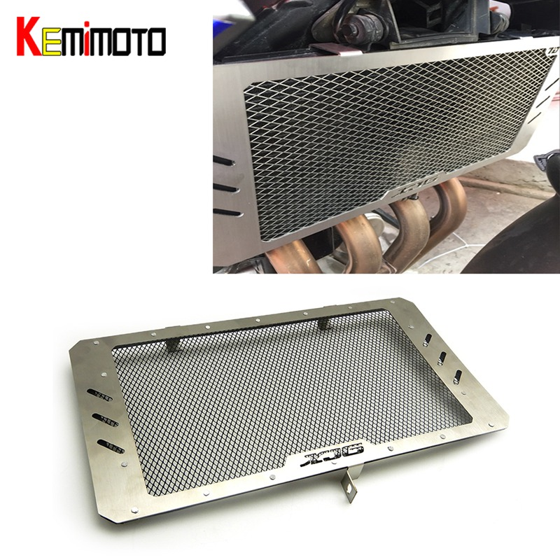 KEMiMOTO For YAMAHA XJ6 XJ-6 XJ 6 XJ6N Radiator Grill Grille Guard Cover Protector 2009-2016 5 colors For Choice motorcycle radiator protective cover grill guard grille protector for kawasaki z1000sx ninja 1000 2011 2012 2013 2014 2015 2016