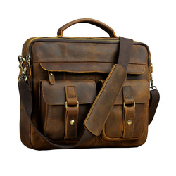Le'aokuu Männer Leder Kaffee dokument anwalt Aktentasche maletas Business 13 Laptop Cases Attache Messenger Taschen Portfolio B207