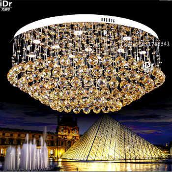 Creative restaurant lights modern minimalist LED crystal lamp living room lamp bedroom lamp Ceiling lights lamps lighting - Category 🛒 Lights & Lighting