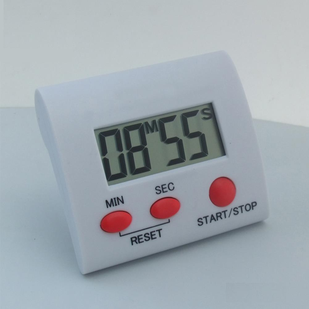 Newest Red Buttons Large LCD Digital Kitchen Cooking Timer Loud ...