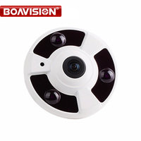 1080P IP Camera (POE) Onvif Fisheye Panorama 5MP Lens IR Night Vision HD Security CCTV Camera 2MP 360 Degree View P2P XMEye