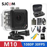 Original SJCAM M10 cámara de acción deportiva Full HD 1080P 170 grados Mini buceo 30M Cámara impermeable mini videocámara m10 DV deportes