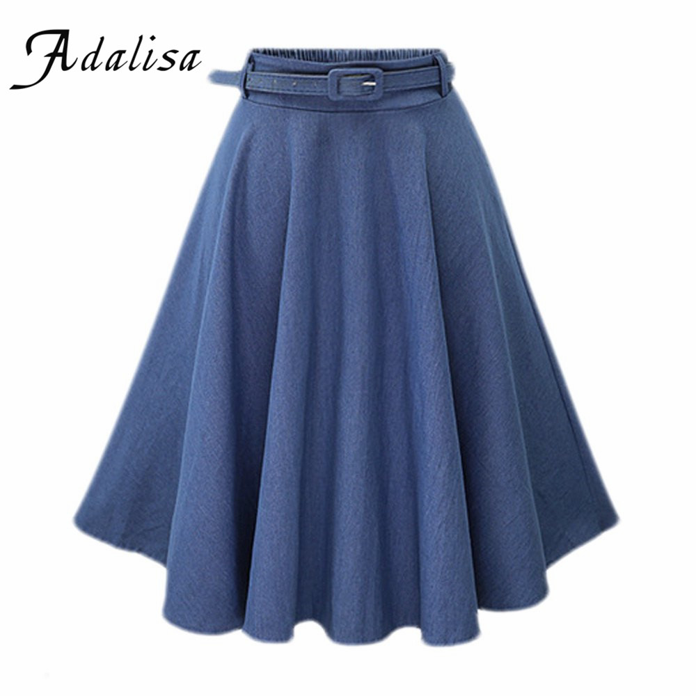 popular colored denim skirts buy cheap colored denim