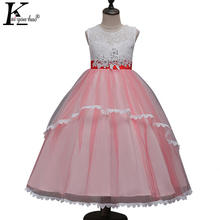 Girls Dress Sleeveless Princess Wedding Dresses For Girls Clothes Halloween Costume For Kids Christmas Dress Children's Clothing