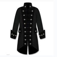 Косплей средневековый мужской ретро куртка панка костюм Викторианский готический Ренессанс Пираты стимпанк пальто костюм мужской ретро о...