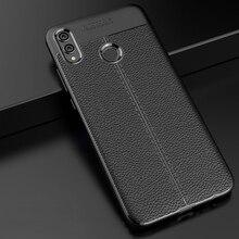 YUETUO кожаный узор мягкий ТПУ телефон назад etui, coque, чехол, чехол для huawei honor 8×8 x силиконовые аксессуары протектор