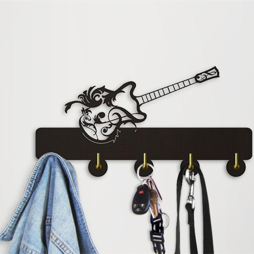 1Piece Guitar Decorative Hanging Hooks Music Instrument
