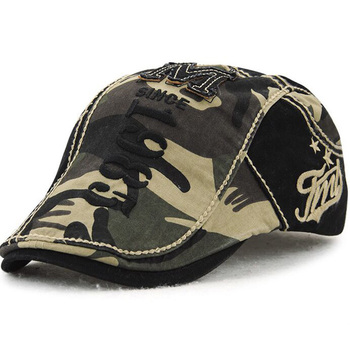1 Pcs 2018 Spring New Visors Caps Camouflage  Embroidery letters Cotton Hats For Men Brand Snapback  Men Hats 5 Colors 8646 1 pcs 2016 new water washing copper standard baseball caps spring summer outdoor beach hats for women and men snapback 5 colors