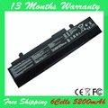 Nova 6 células 5200 mah bateria para asus eee pc 1015,1016, 1215 series a31-1015, AL31-1015, A32-1015, PL32-1015
