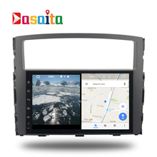 Car Android 7.1 GPS Navi for Mitsubishi pajero V97 V93 2006-2011 autoradio navigation head unit multimedia 2Gb RAM HDMI output