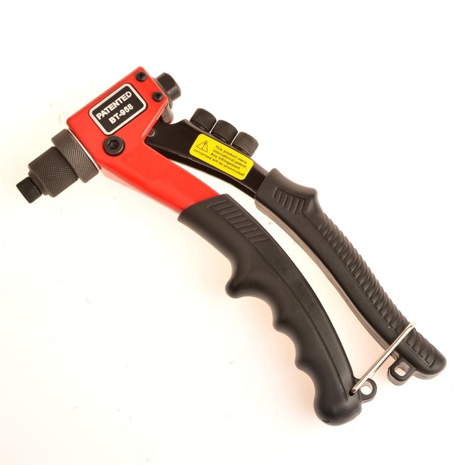 Rivets Gun Single Hand Blind Rivet Guns Manual Riveting Tool Hand Heavy Hand Tool Manual Mandrels One-hand Operation