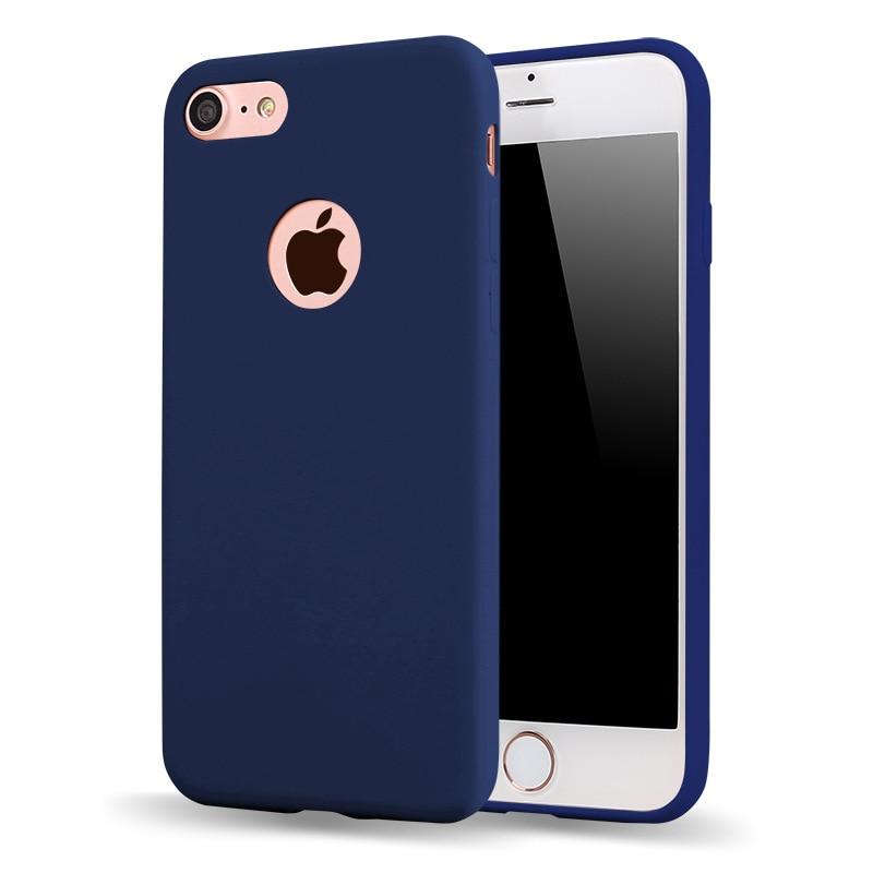 Nové luxusní vysoce kvalitní TPU pouzdro pro iPhone 7 pouzdra 5s 6s plus 5 měkké silikonové pouzdro iPhone 6 plus plus plné kryty telefonů