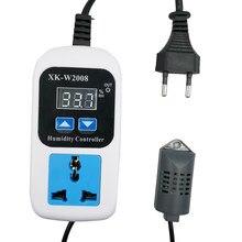 0% rh 99% rh controlador de umidade digital hygrostat umidade interruptor de controle de umidade tomada entrada ue plug hygrometert 110-220 v