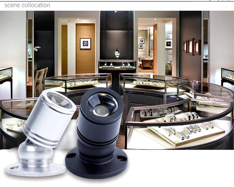 3 Вт светодиодный встраиваемый мини-точечный светильник 110 В 220 В вниз светильник 12 В dc ювелирное шоу включает светодиодный драйвер 4000K потолочный светильник
