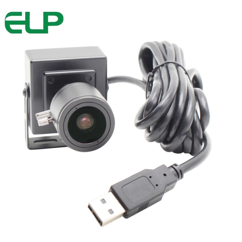 "1080P indoor  aluminum case H.264 1/3"" CMOS AR0330 2.8-12mm varifocal lens mini webcam usb camera"