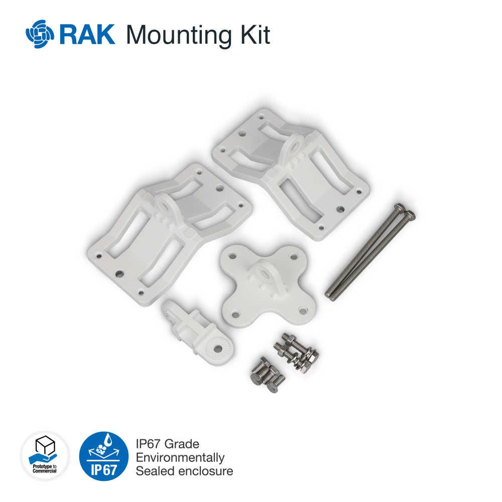Carcasa de puerta de enlace al aire libre NEMA-67 soporte Industrial de aluminio fundido a presión RAK7249 DIY Gateway RAK831 tablero concentrador Q007