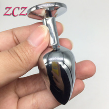 Butt Toy Plug Anal Insert sex products Stainless Steel