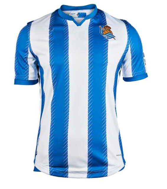 19 20 Real Sociedad shirt X.PRIETO JUANMI AGIRRETXE CARLOS MOYA ARITZ Custom Home 2019 2020 Royal Society Shirts