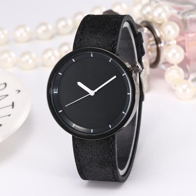 Zhoulianfa Alloy Round Dial Fashion PU Leather Strap Watch