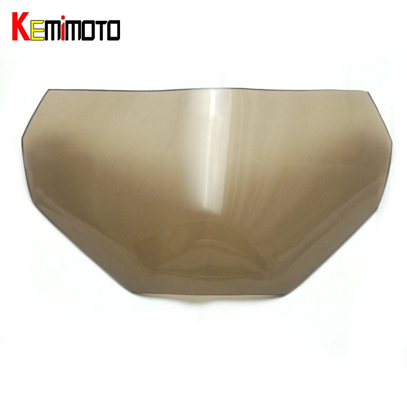 KEMiMOTO For Yamaha MT 09 FZ 09 Headlight Lens Protector Screen For Yamaha MT-09 FZ-09 2014-2016 MT09 Smoke / Clear New Arrival