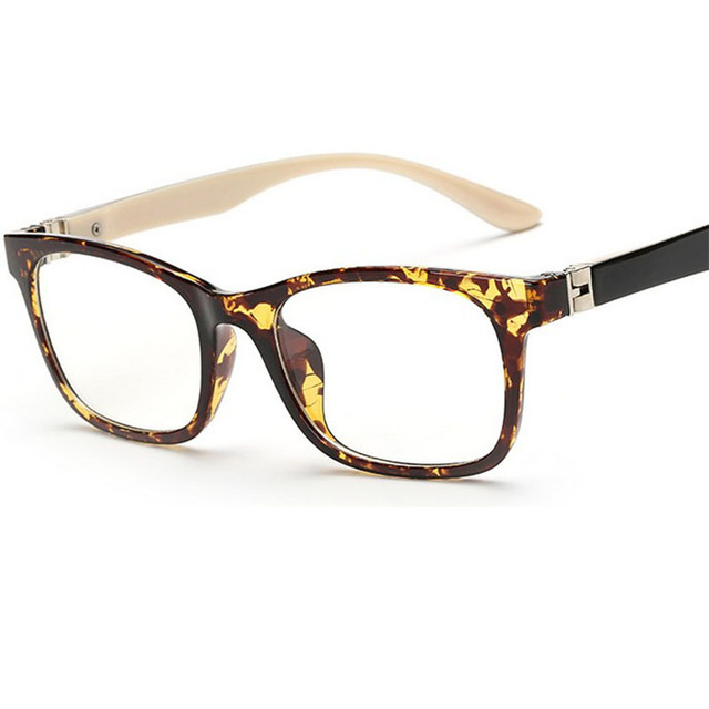 nuevo producto 64cb4 a8069 € 7.87 |Sheli nueva moda Gafas mujeres ojo Gafas Marcos ojo negro Gafas  vendimia Monturas de gafas leopardo marrón rojo gafas en Gafas de Marcos de  ...
