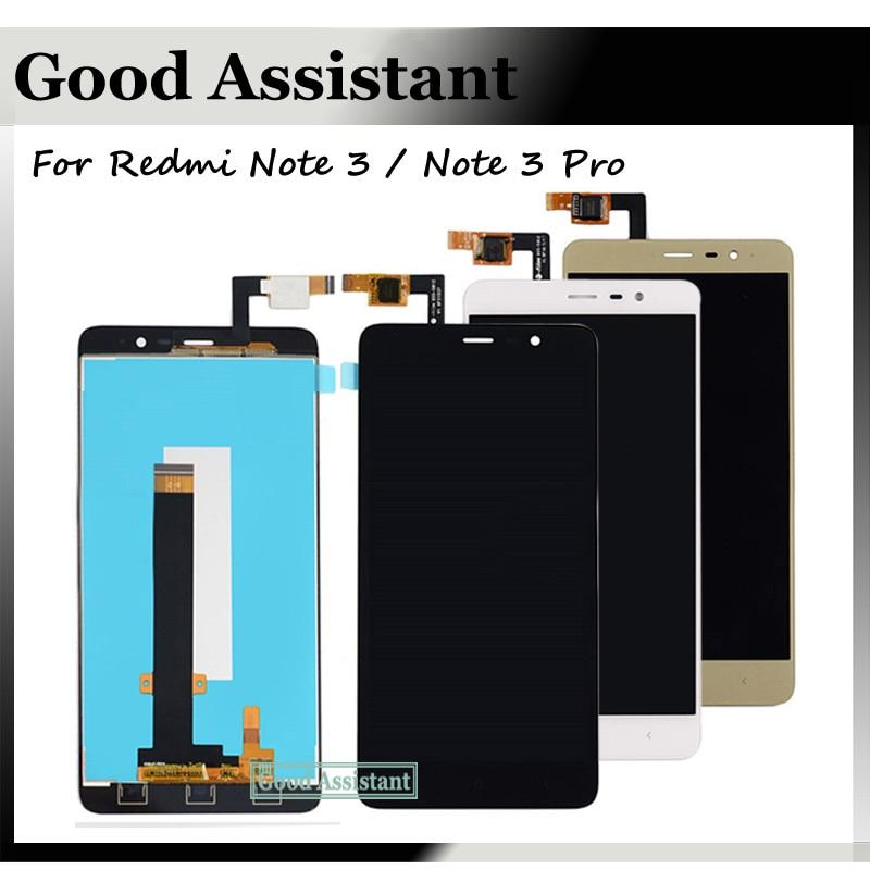 imágenes para 150mm Para El Arroz Rojo Xiaomi Hongmi Redmi Nota 3 Pro/Redmi Nota 3/Prime Pantalla LCD + Pantalla Táctil Digitalizador Asamblea