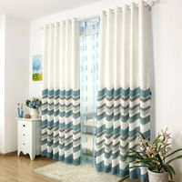Linnet Waved Curtains Curtain150 270cm 2pcs Tull 300 263 1pc Window Cortinas For Living Room Customizable