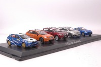 All New A Set Of Five Limited Edition 1 43 Subaru WRX XV Forester Outback BRZ