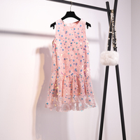 New 2019 Fairy Sen is the fairy summer dress of the small crowd with sweet vest and Platycodon Platycodon in
