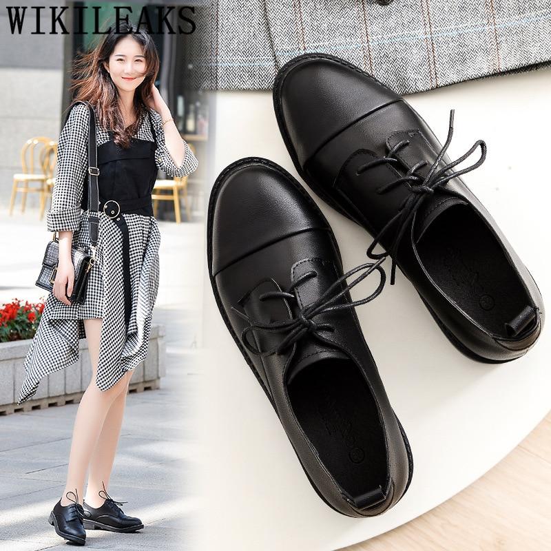 Ladies Shoes Woman Black Shoes For
