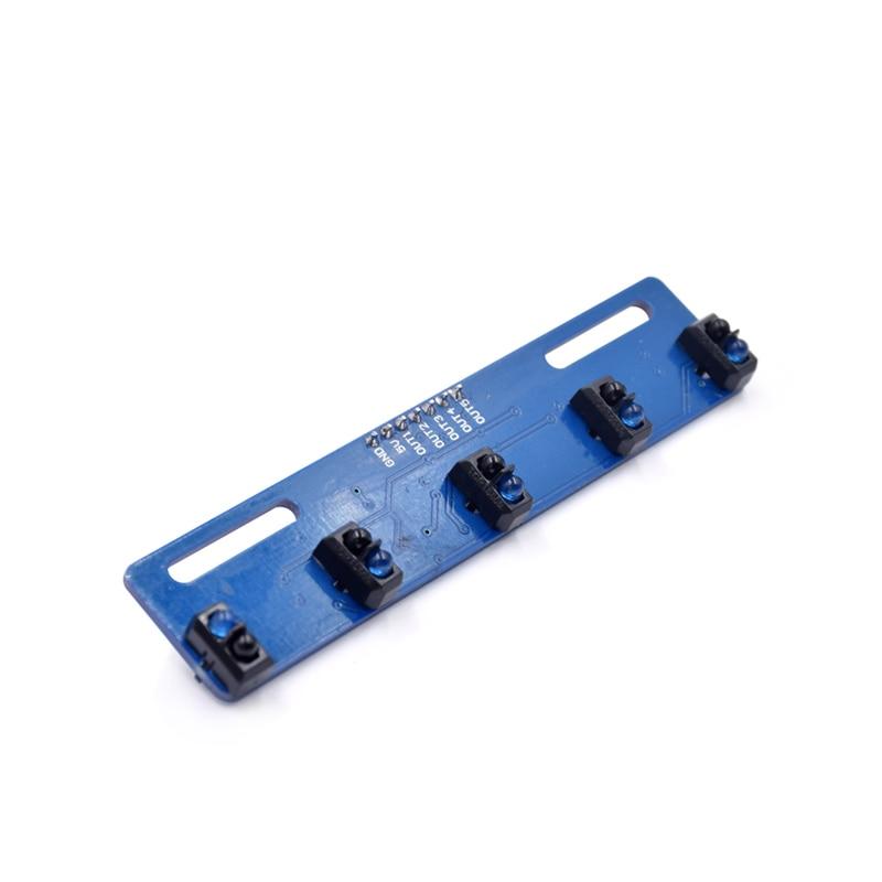 Smart Electronics TCRT5000 Five Road Tracing Sensor Module