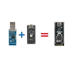 Image 5 - Keywish BLE NANO สำหรับ Arduino Nano V3.0 Mirco USB รวม CC2540 BLE โมดูลไร้สาย ATmega328P Micro CONTROLLER บอร์ด
