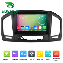 Quad Core 1024*800 Android 4.4 Voiture DVD GPS Navigation Lecteur Autoradio pour OPEL Vauxhall Insignia 2008-2013 Bluetooth Wifi/3G