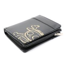 One Piece Skull Zipper Wallet