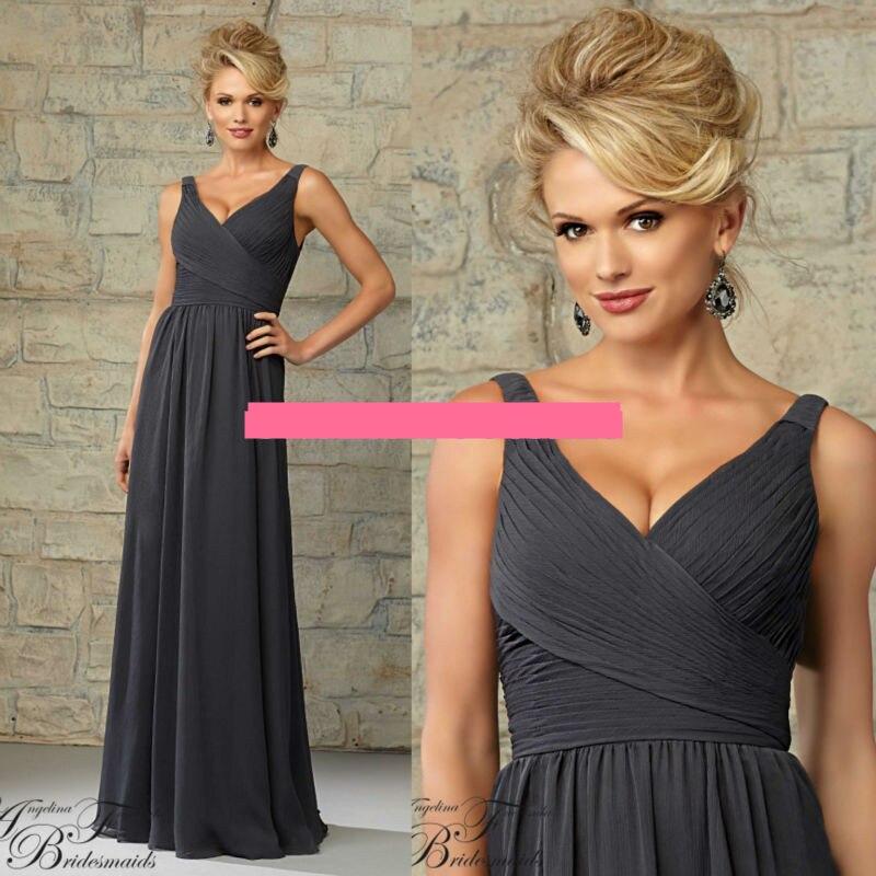 Cheap charcoal grey bridesmaid dresses