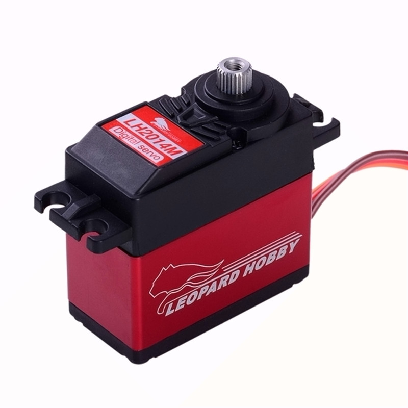 Leopard Hobby LH2014M Digital High Voltage Titanium Gear Brushless Servo 15kg torque RC hobby model hitec hs 7945th high voltage titanium gear coreless ultra premium servo 23kg 68g for rc hobby