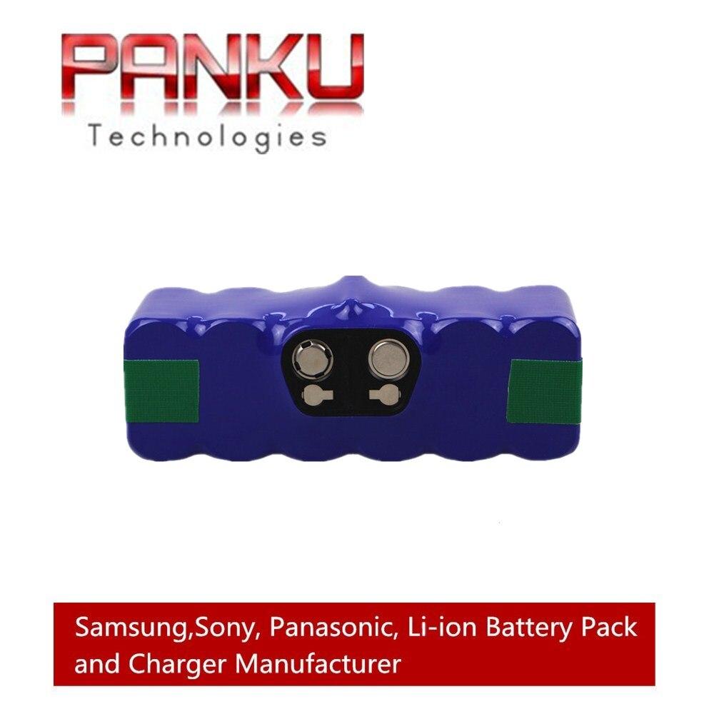 14.4V 6.4Ah Li-ion <font><b>Battery</b></font> for iRobot <font><b>Roomba</b></font> 500 600 700 800 Series 510 530 531 532 550 585 561 620 630 650 760 <font><b>770</b></font> 780