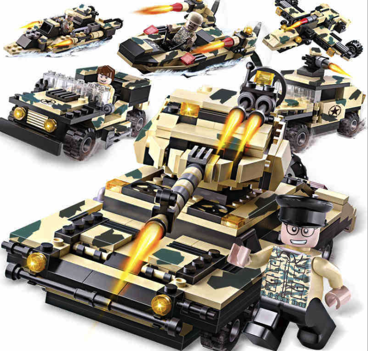 834pcs Building Blocks Special Troops Tanks Fighter ATGM SUVS DIY Children's Birthday Present Intelligence Creative Plaything new fx3u 64ccl special function blocks