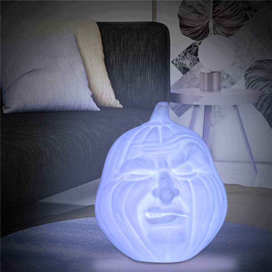 And Great Variety Of Designs And Colors Full Range Of Specifications And Sizes 3d Hand Pat Light Pumpkin Night Light Table Desk Colorful Lamp Halloween Gift Energy Saving Lamp With Usb Line #0920 Famous For High Quality Raw Materials